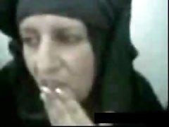 Sexy arab mature slut at interview